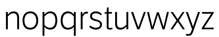 LFT Etica Compressed Book Italic Font LOWERCASE