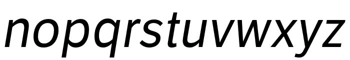 LFT Etica Compressed Italic Font LOWERCASE