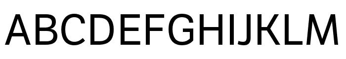 LFT Etica Compressed Regular Font UPPERCASE