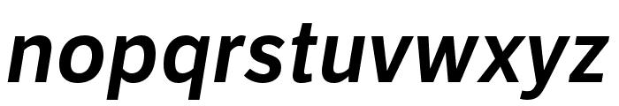 LFT Etica Compressed SemiBold Italic Font LOWERCASE