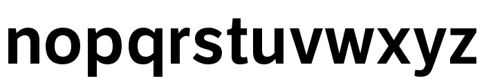 LFT Etica SemiBold Font LOWERCASE