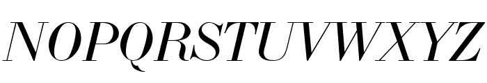 LTC Bodoni 175 Italic Font UPPERCASE