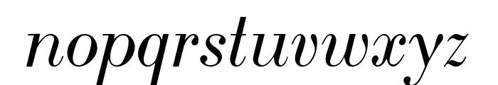 LTC Bodoni 175 Italic Font LOWERCASE