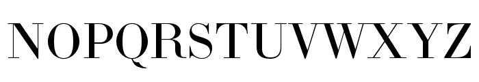 LTC Bodoni 175 Pro Regular Font UPPERCASE