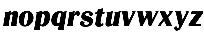 LTC Globe Gothic Bold Italic Font LOWERCASE