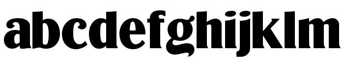 LTC Globe Gothic Bold Font LOWERCASE