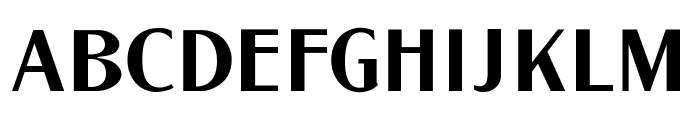 LTC Globe Gothic Regular Font UPPERCASE