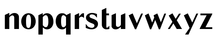 LTC Globe Gothic Regular Font LOWERCASE