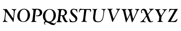 LTC Goudy Oldstyle Pro Bold Italic Font UPPERCASE