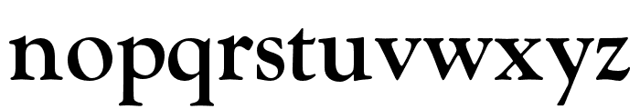 LTC Goudy Oldstyle Pro Bold Font LOWERCASE
