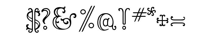 LTC Goudy Ornate Regular Font OTHER CHARS