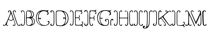 LTC Goudy Ornate Regular Font UPPERCASE