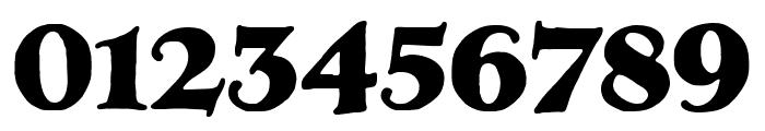LTC Hess Monoblack Regular Font OTHER CHARS
