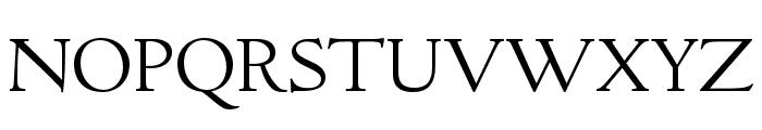 LTC Italian Old Style Pro Light Font UPPERCASE