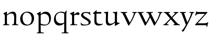 LTC Italian Old Style Pro Light Font LOWERCASE
