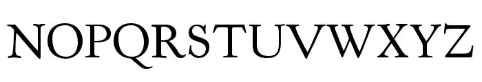 LTC Kennerley Pro Regular Font UPPERCASE