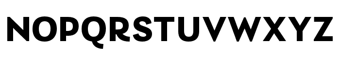 Laca Bold Font UPPERCASE