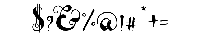 Lady Dodo Patterns Regular Font OTHER CHARS