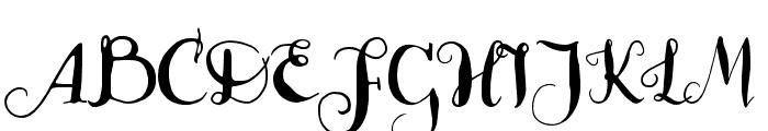 Lady Dodo Patterns Regular Font UPPERCASE
