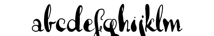 Lady Dodo Patterns Regular Font LOWERCASE