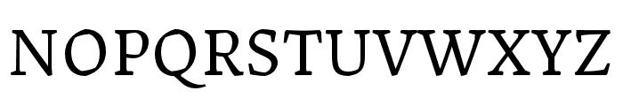 Landa Regular Font UPPERCASE