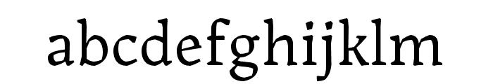 Landa Regular Font LOWERCASE