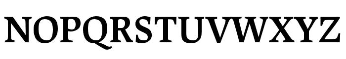 Lapture Display Semibold Font UPPERCASE