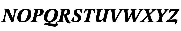 Latienne Pro Bold Italic Font UPPERCASE