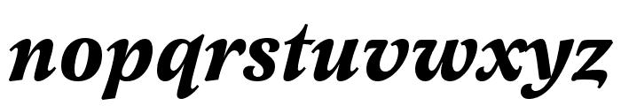 Latienne Pro Bold Italic Font LOWERCASE