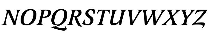Latienne Pro Medium Italic Font UPPERCASE