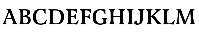 Latienne Pro Medium Font UPPERCASE