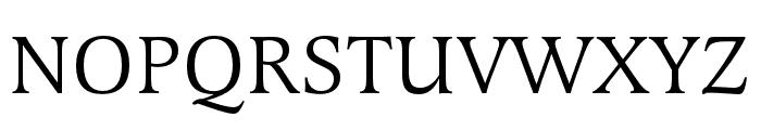 Latienne Pro Regular Font UPPERCASE