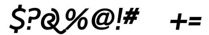 Latinaires BoldItalic Font OTHER CHARS