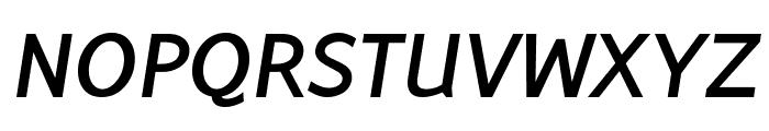 Latinaires BoldItalic Font UPPERCASE