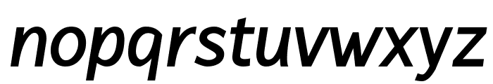 Latinaires BoldItalic Font LOWERCASE