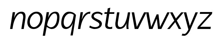 Latinaires Italic Font LOWERCASE