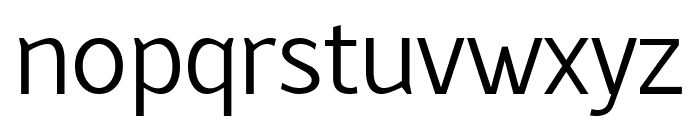 Latinaires Regular Font LOWERCASE