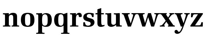 Latino URW Bold Font LOWERCASE