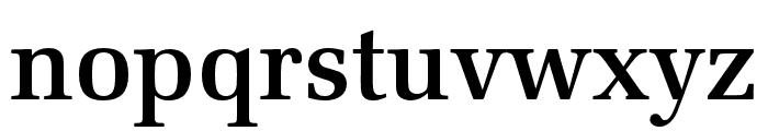Latino URW Medium Font LOWERCASE