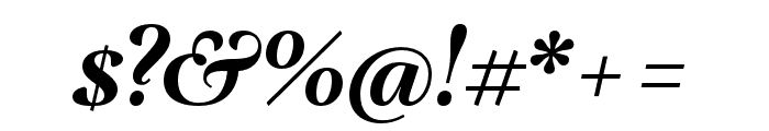 Lavigne Text Bold Italic Font OTHER CHARS