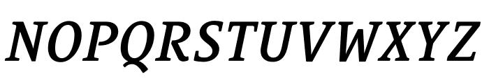 Le Monde Courrier Std Demi Italic Font UPPERCASE