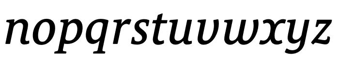 Le Monde Courrier Std Demi Italic Font LOWERCASE