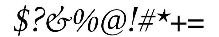 Le Monde Livre Cla Std Italic Font OTHER CHARS