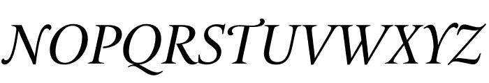 Le Monde Livre Cla Std Italic Font UPPERCASE