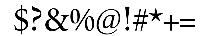 Le Monde Livre Cla Std Regular Font OTHER CHARS