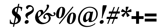 Le Monde Livre Std Bold Italic Font OTHER CHARS