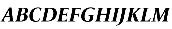 Le Monde Livre Std Bold Italic Font UPPERCASE