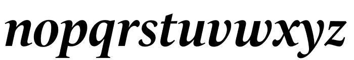 Le Monde Livre Std Bold Italic Font LOWERCASE