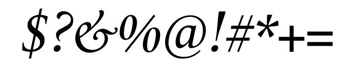 Le Monde Livre Std Book Italic Font OTHER CHARS