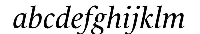 Le Monde Livre Std Book Italic Font LOWERCASE
